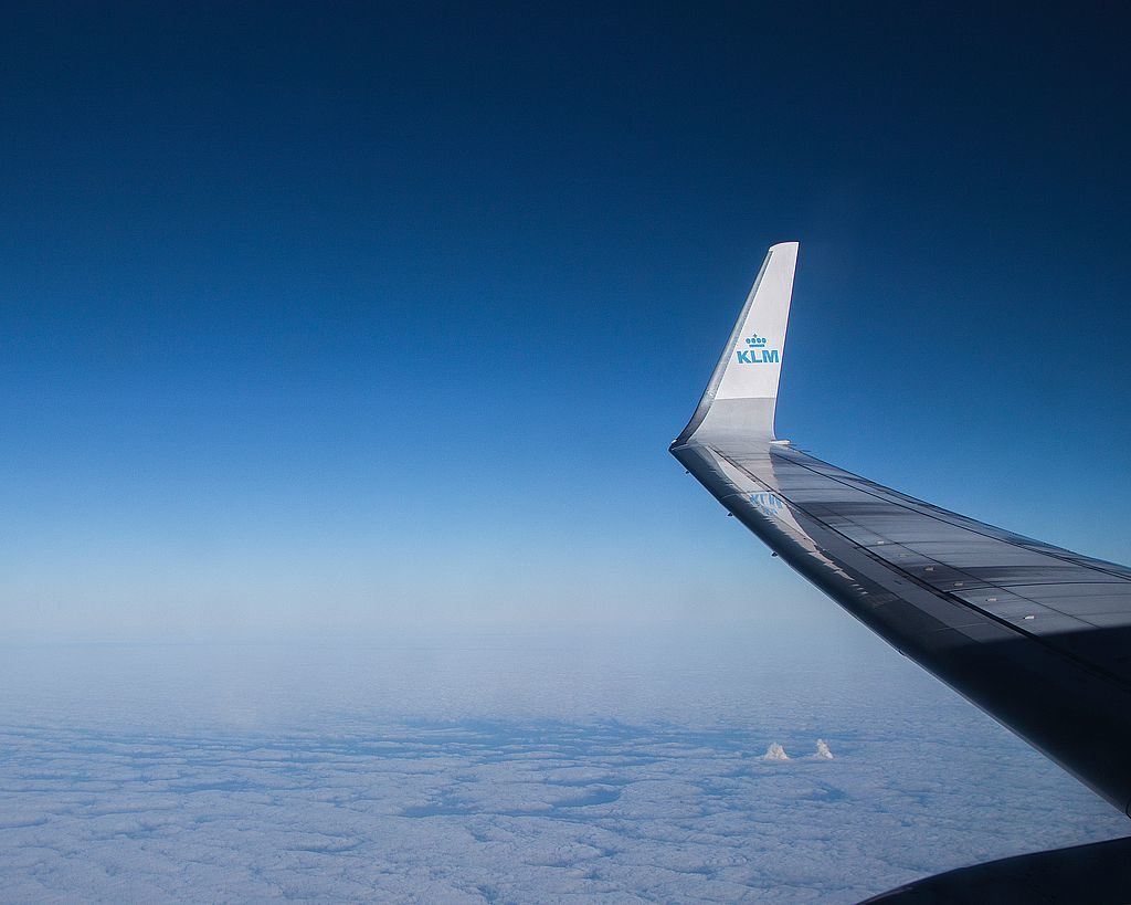 Kurzreise Amsterdam Hinflug