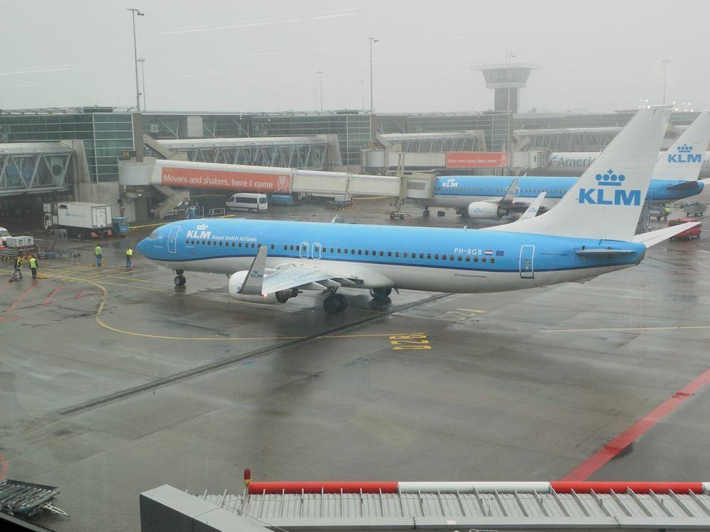 KLM Boeing bei Kurztrip nach Amsterdam