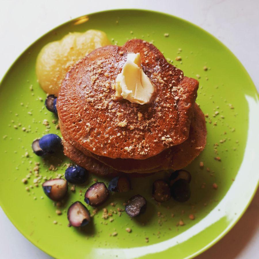 Pancakes für BLW Frühstück
